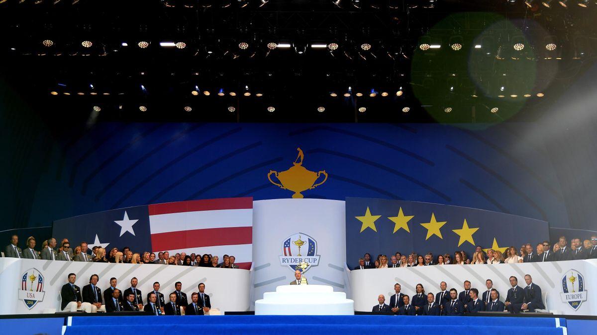 Ryder Cup 2018, acto de inauguración