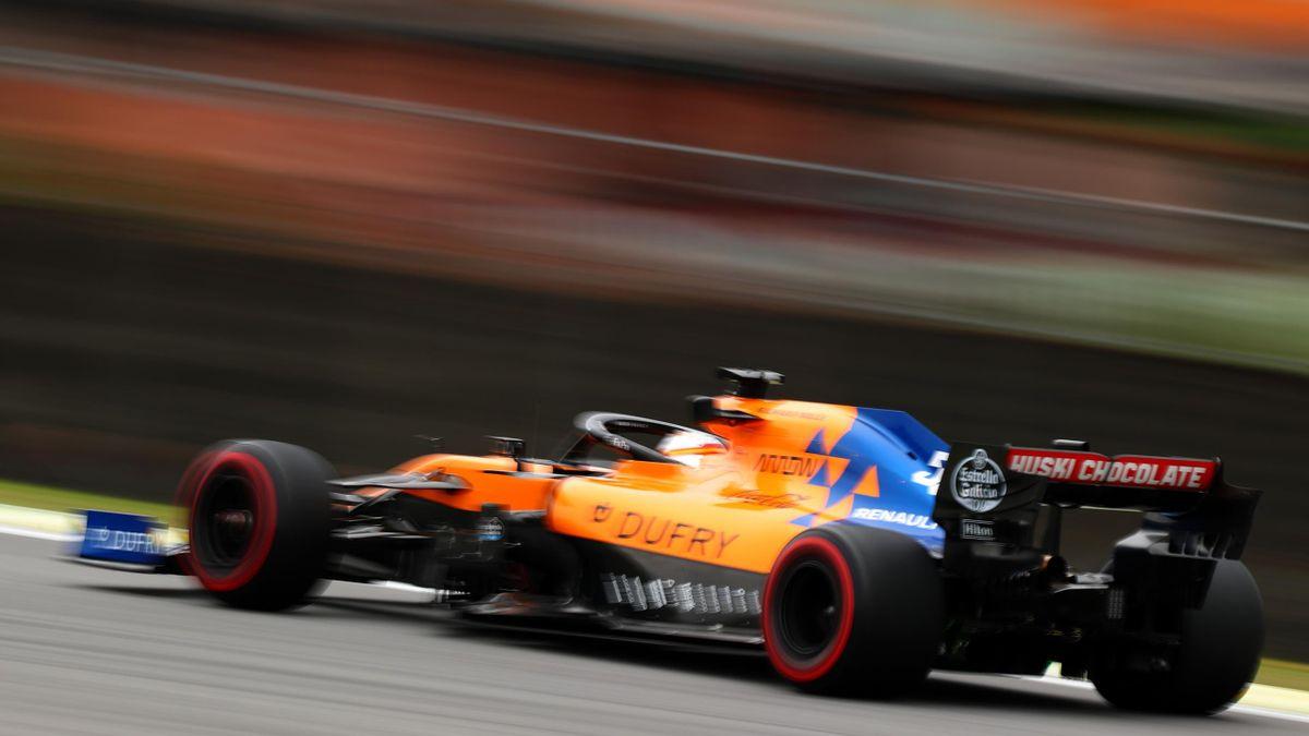 Carlos Sainz (McLaren) au Grand Prix du Brésil 2019
