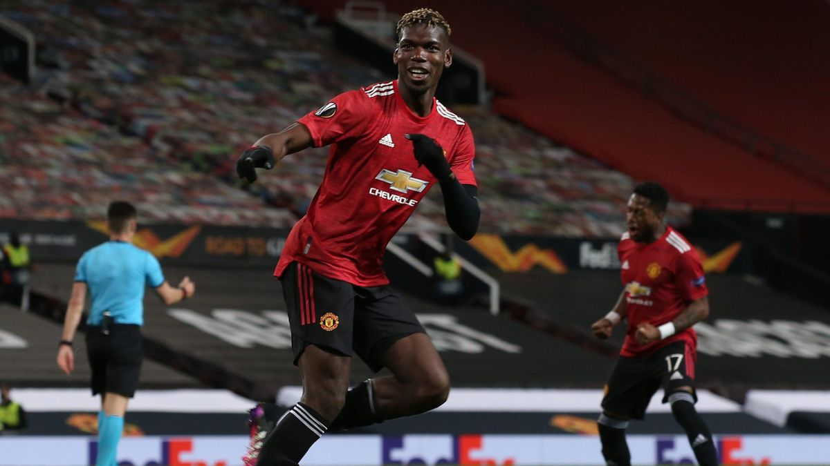Paul Pogba (Manchester United) / Europa Ligue