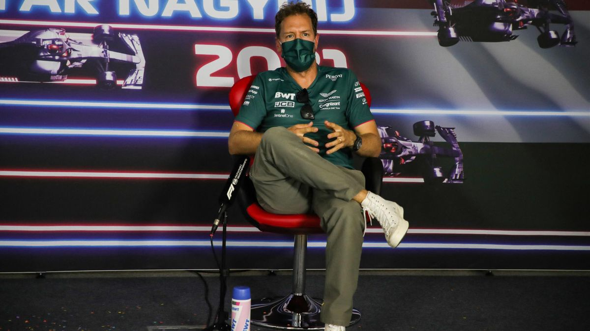Sebastian Vettel im Vorfeld des Ungarn GP