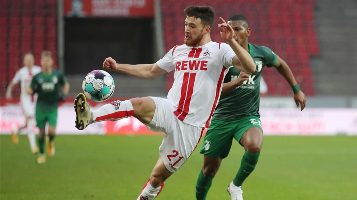 1. FC Köln gegen den FC Augsburg