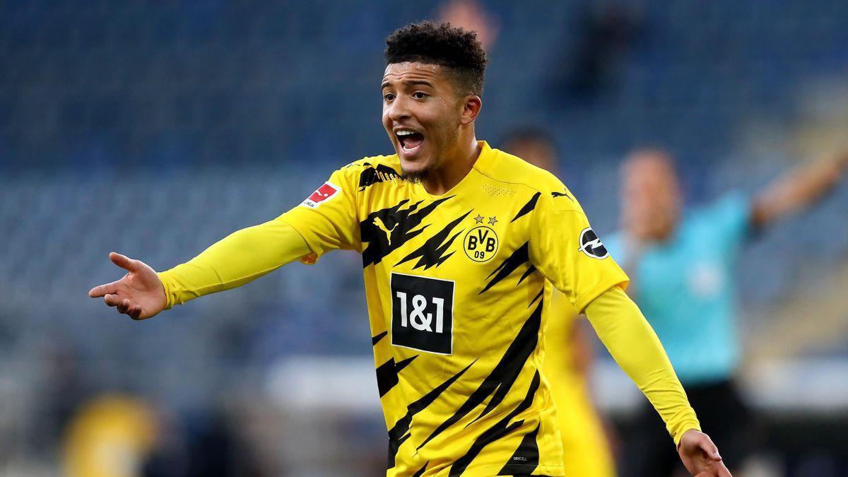 Jadon Sancho of Dortmund