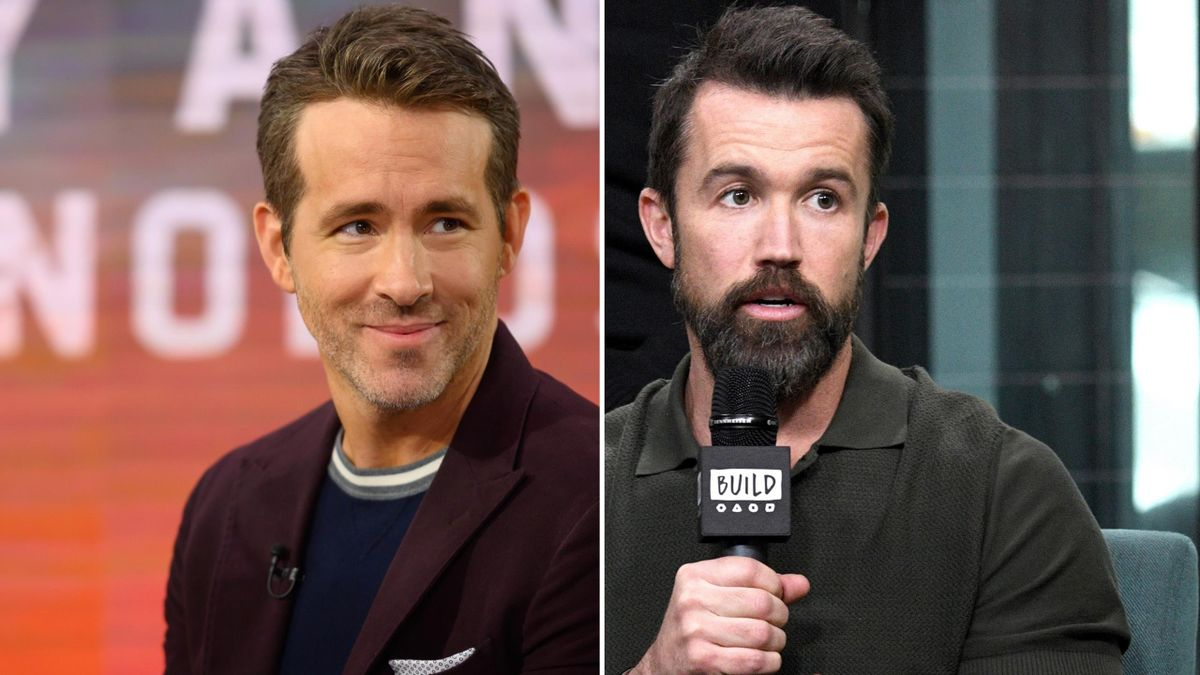 Hollywood stars Ryan Reynolds and Rob McElhenney