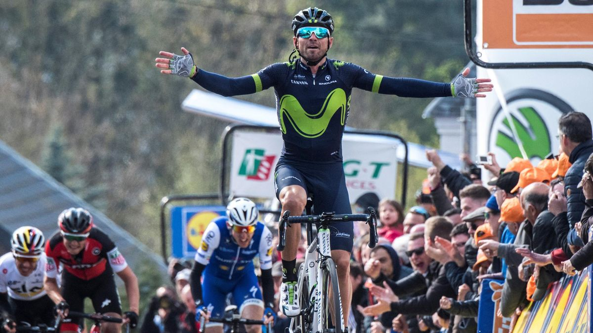 Alejandro Valverde, vainqueur de la Flèche Wallonne