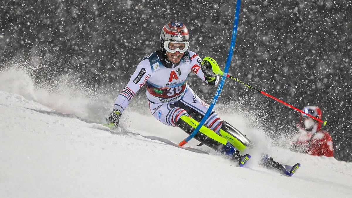 Julien Lizeroux en 2021 à Schladming