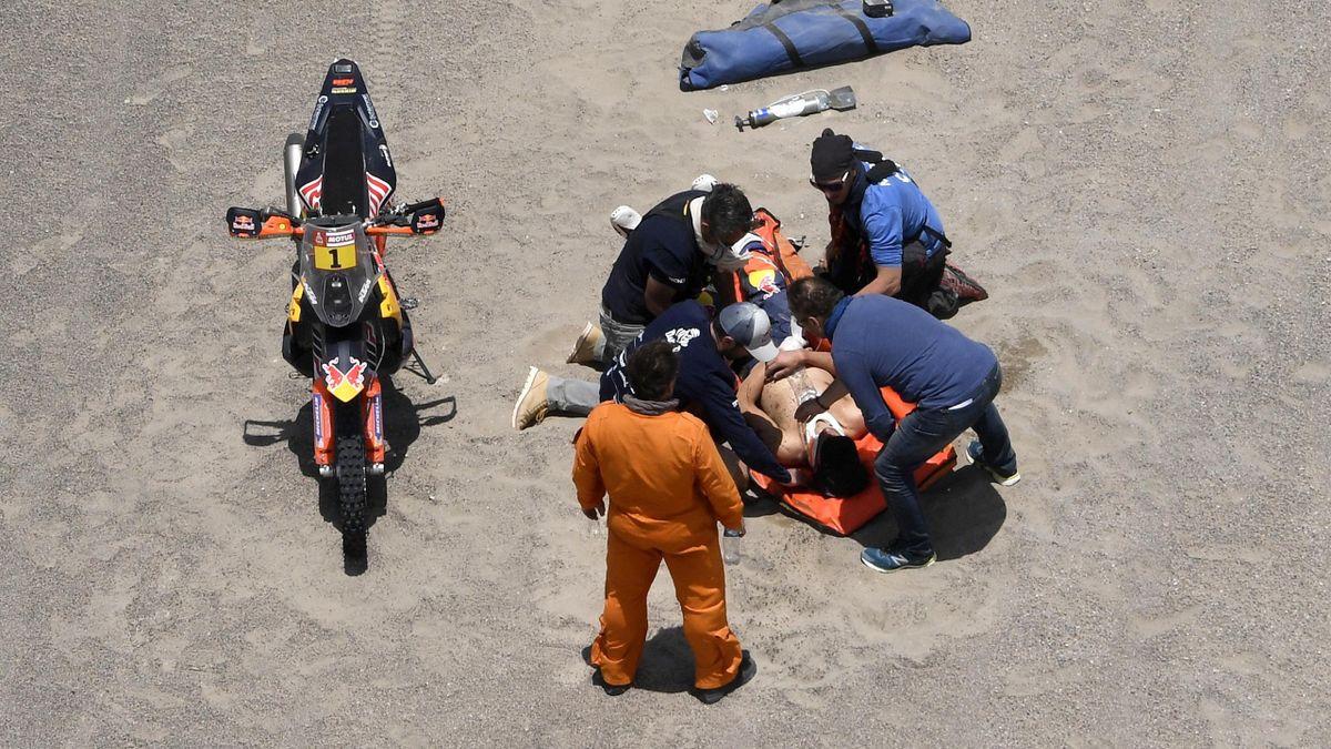 Авария на «Дакаре»