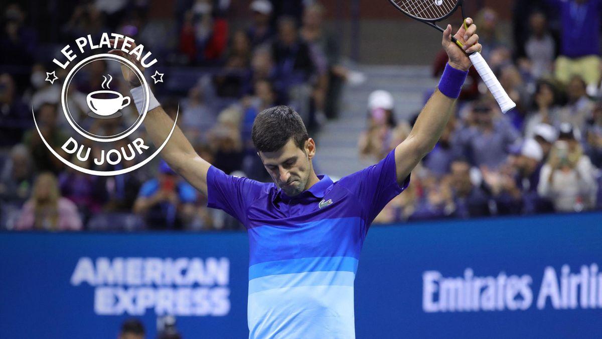 Novak Djokovic à la Une du plateau du 11 septembre 2021