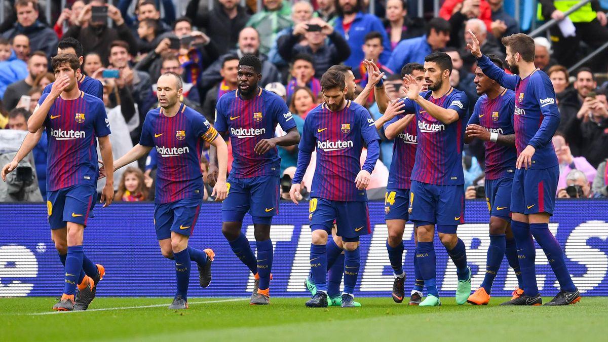 Барселона» выйдет на Класико с «Реалом» в статусе чемпиона Испании, если  победит «Депортиво» - Eurosport