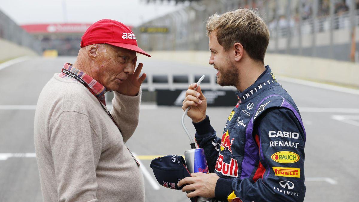 Niki Lauda, Sebastian Vettel (2013)