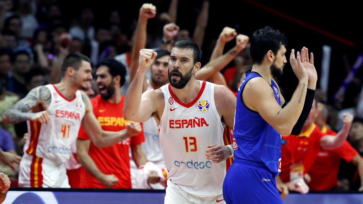 Marc Gasol, Españ-Italia, Mundial de baloncesto