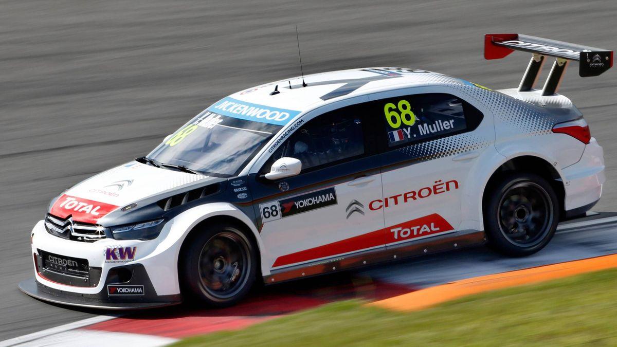 Yvan Muller fuhr im Training auf dem Slovakiaring die Bestzeit