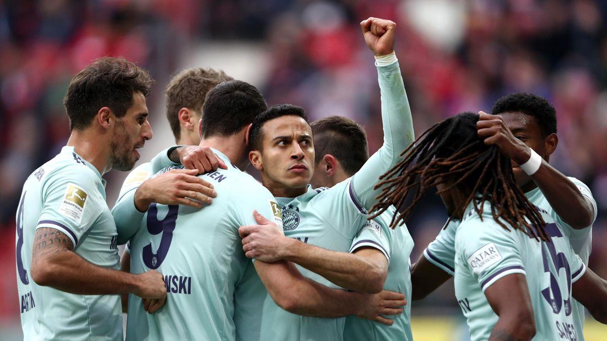 Il Bayern non sbaglia: 2-1 a Mainz, decide una zampata di Thiago ...