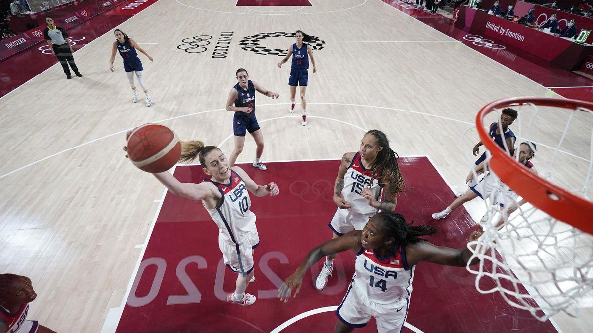 Az amerikai női kosarasok címvédésre készülnek