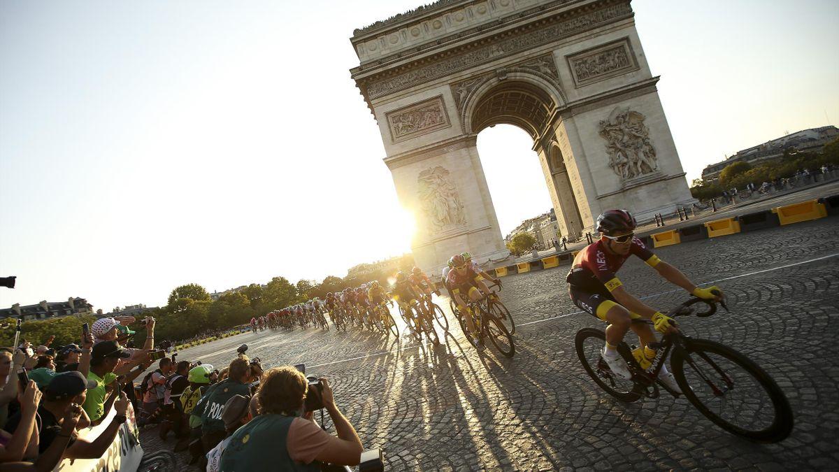 Le Col De La Loze Le 16 Septembre L Arrivee Le 20 Le Calendrier Des Etapes Du Tour De France 2020 Eurosport