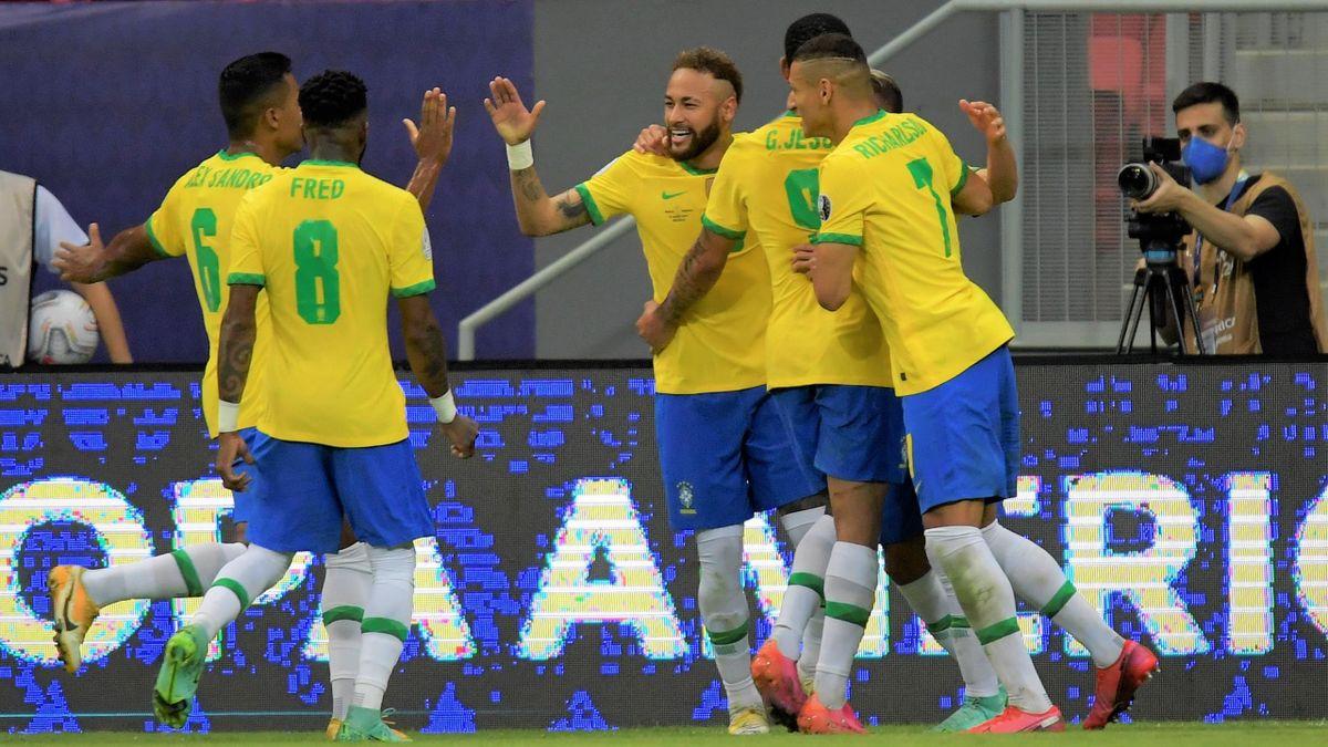 Brasil-Venezuela: resumen, resultado y goles goles del partido de Copa  América 2021 - Eurosport