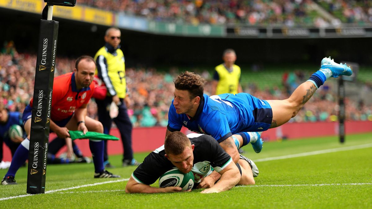 Italia Irlanda, Matteo Minozzi, test match Dublino 2019