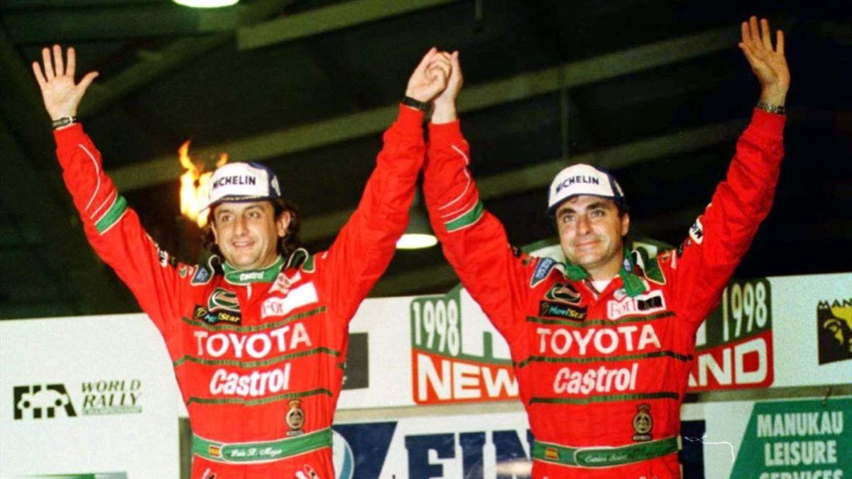 Carlos Sainz y Luis Moya (Toyota)