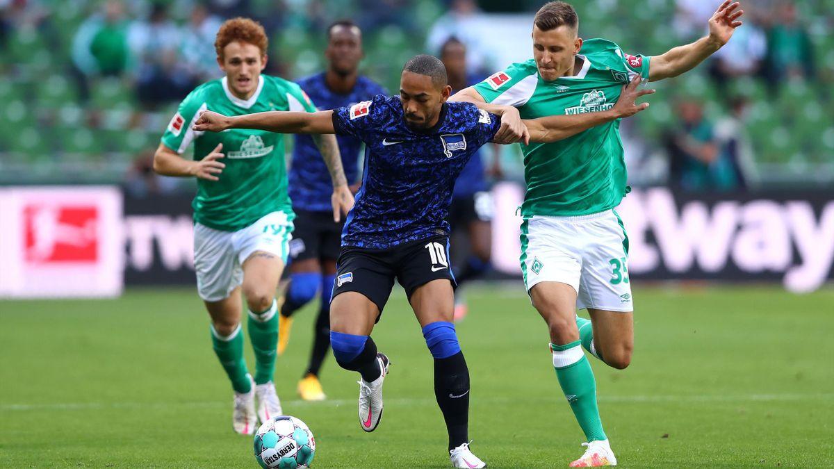 Werder Bremen gegen Hertha BSC
