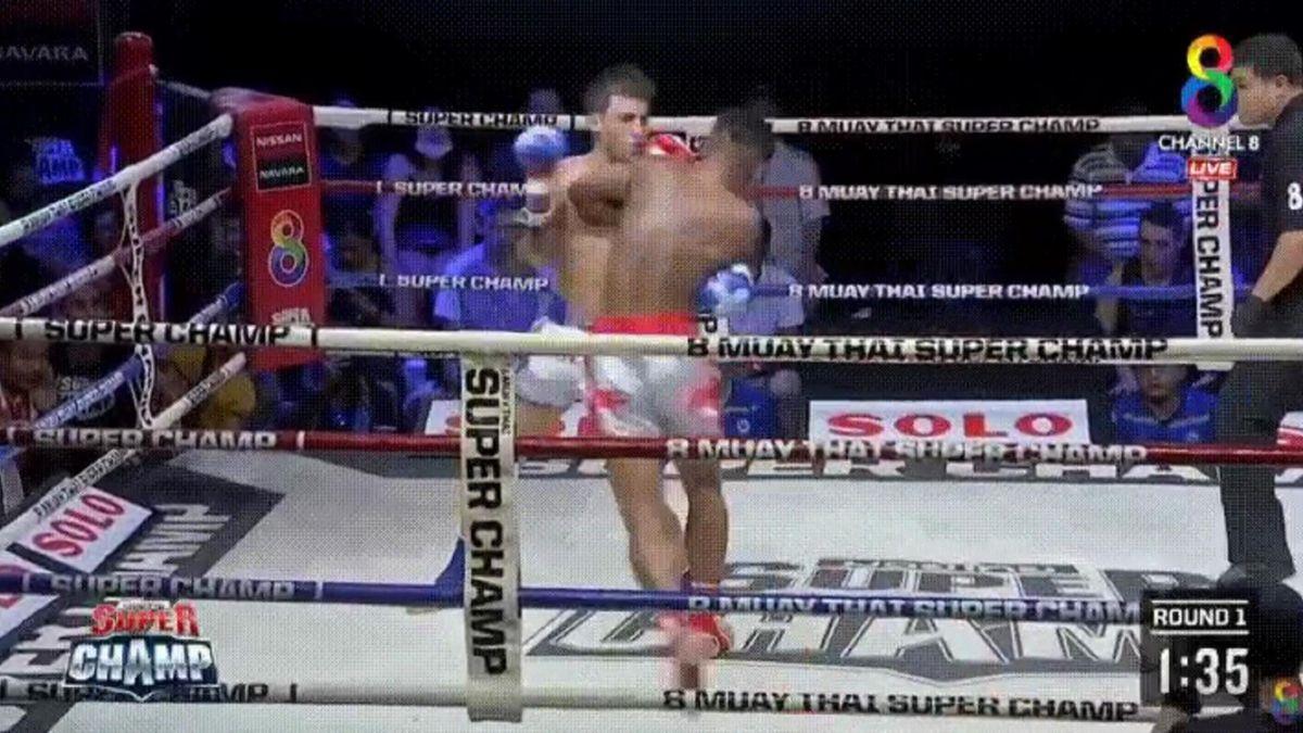 Мот Кламхамао – Лука Лассале, Muay Thai Super Champ