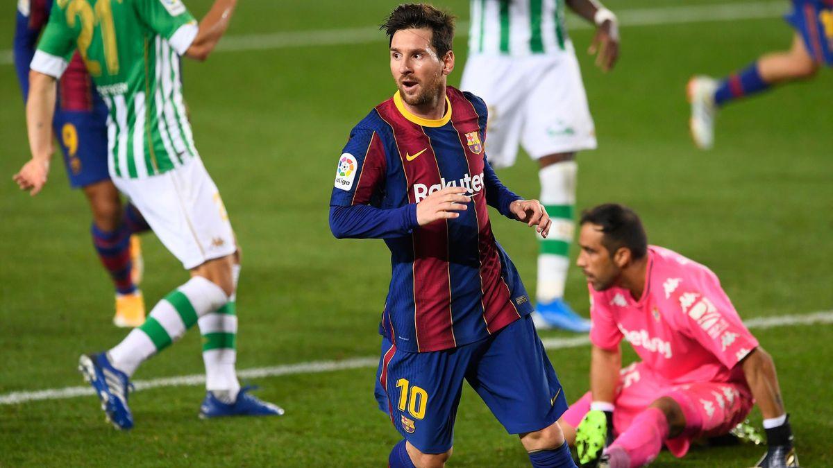 Barcelona - Betis 5-2. Messi, omul meciului, chiar dacă a jucat doar o repriză