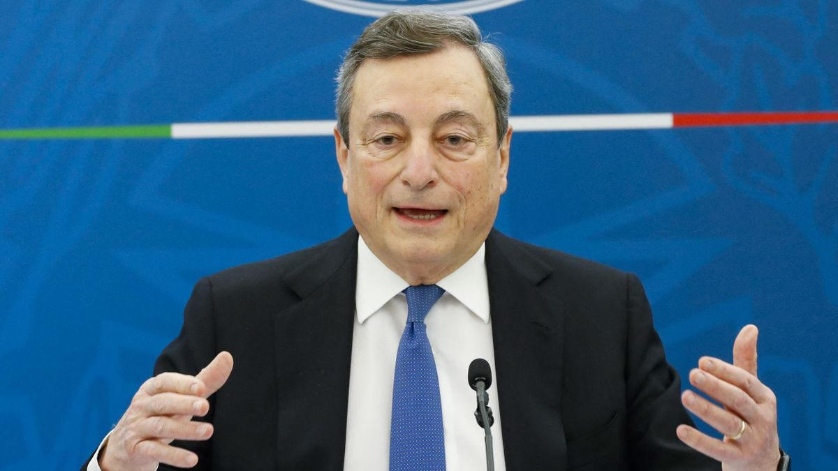 Mario Draghi, palazzo Chigi