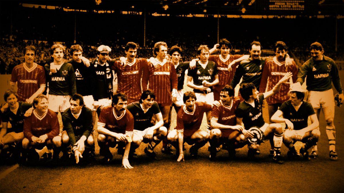 Everton et Liverpool, Wembley 1984