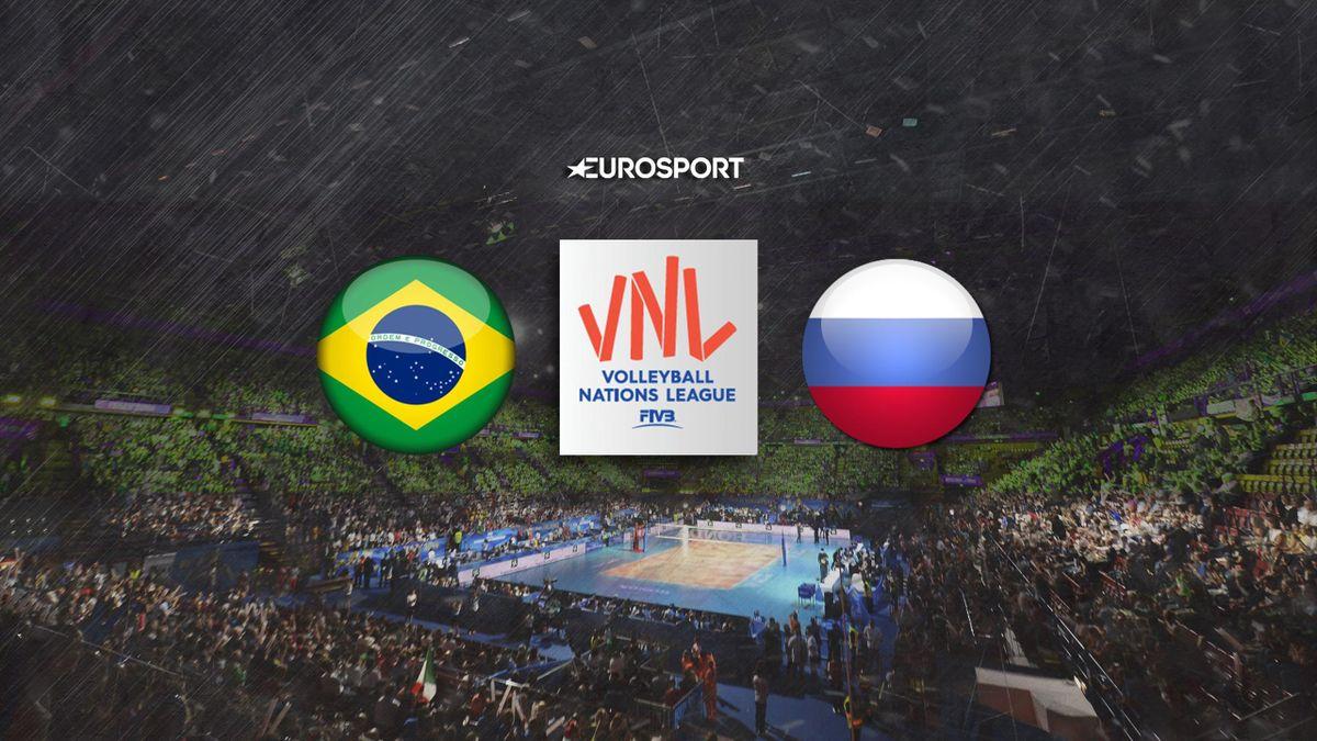 Бразилия – Россия, FIVB Лига Наций