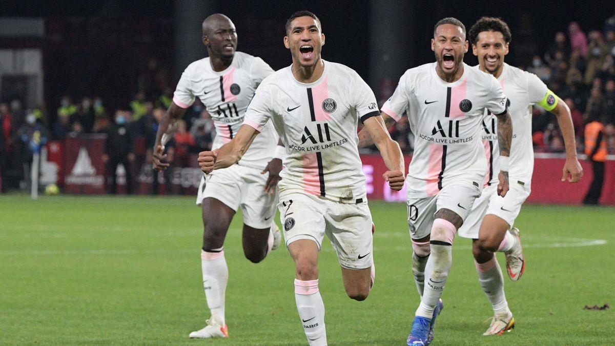 Achraf Hakimi a sauvé le PSG à Metz
