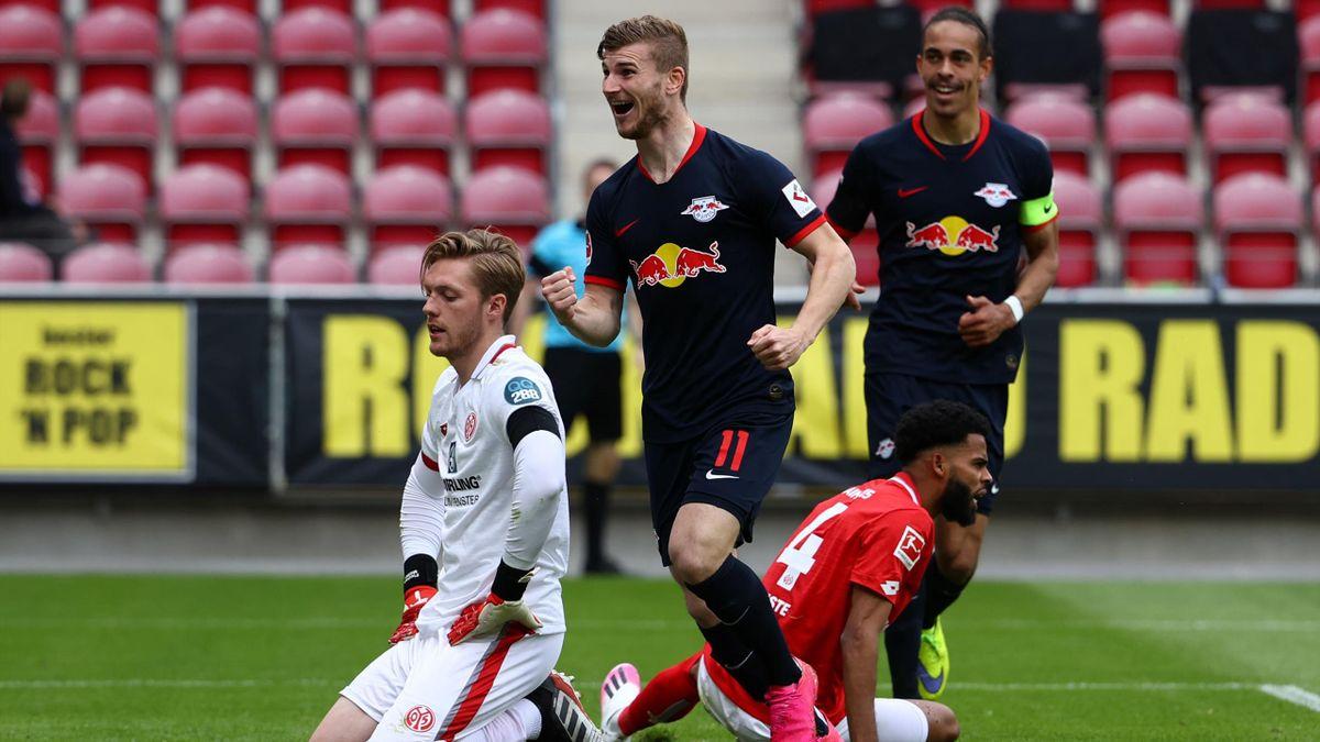 Timo Werner a făcut din nou instrucţie cu Mainz