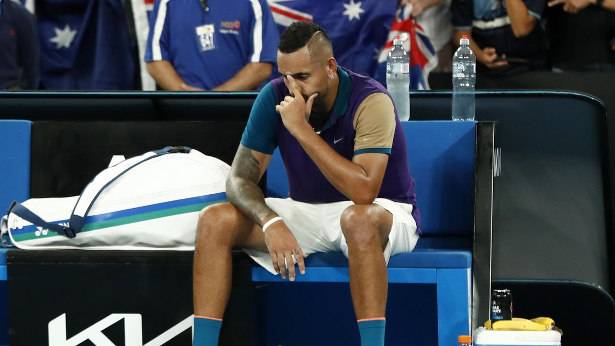 'I was in a dark place' – Kyrgios on 'craziest-ever' match