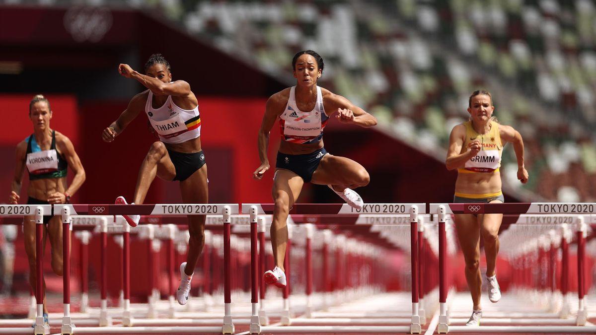 Katarina Johnson-Thompson is flying the flag for Team GB