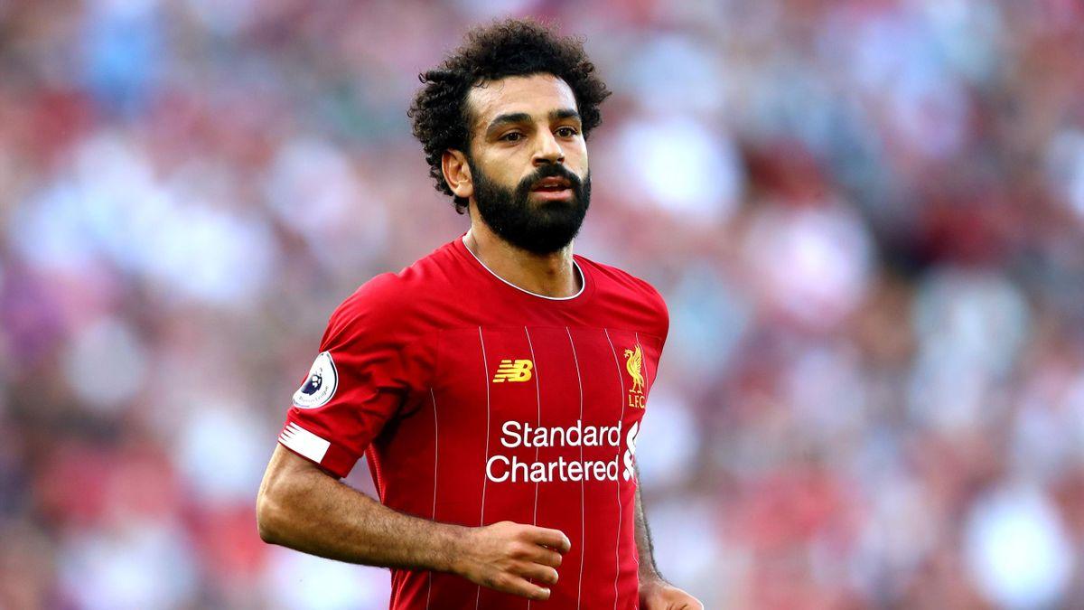 Mohamed Salah lors de Liverpool-Arsenal / Premier League