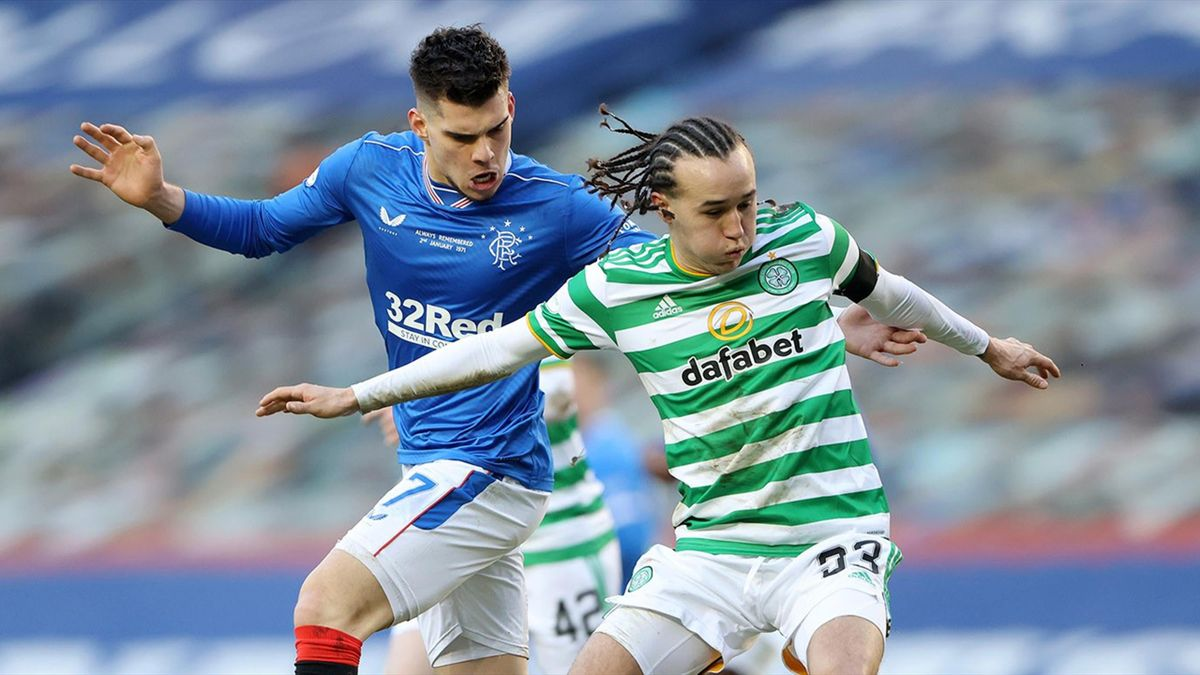 Ianis Hagi, în Rangers - Celtic 1-0
