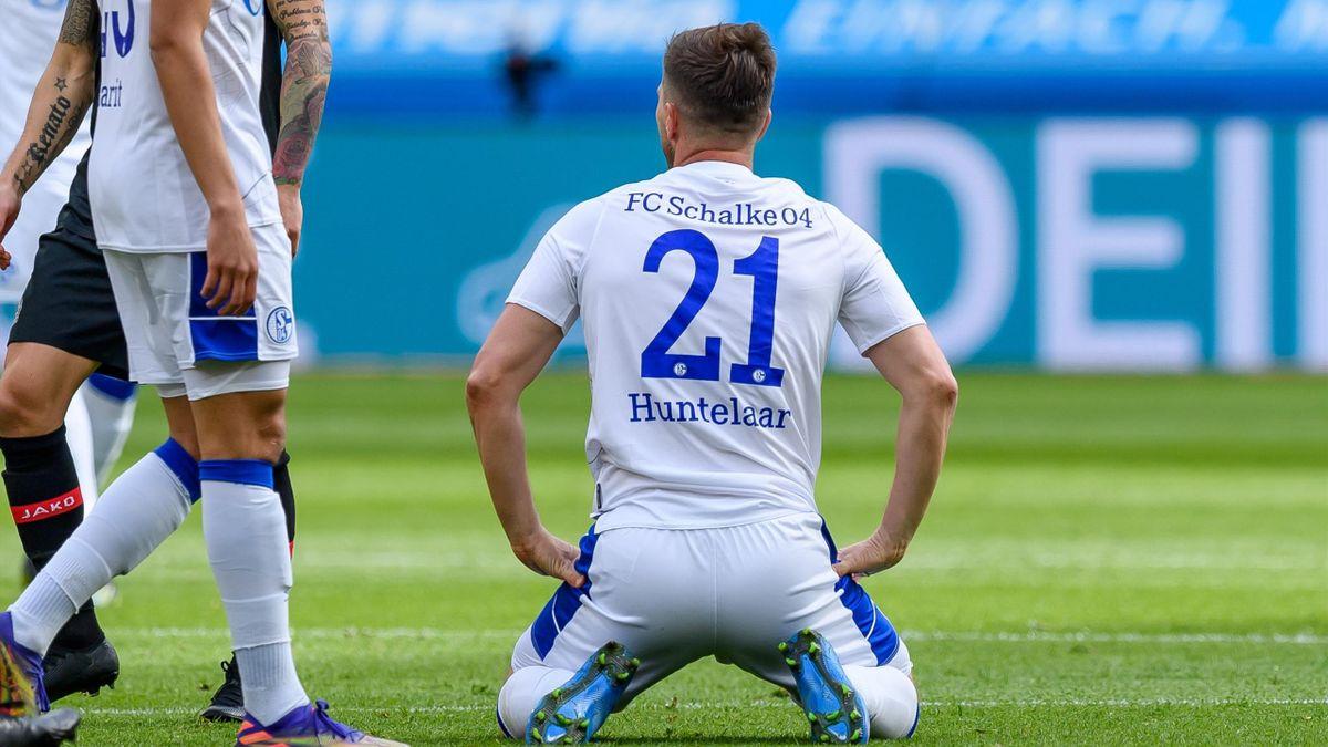 Klaas-Jan Huntelaar und Schalke 04 taumeln dem Abstieg entgegen