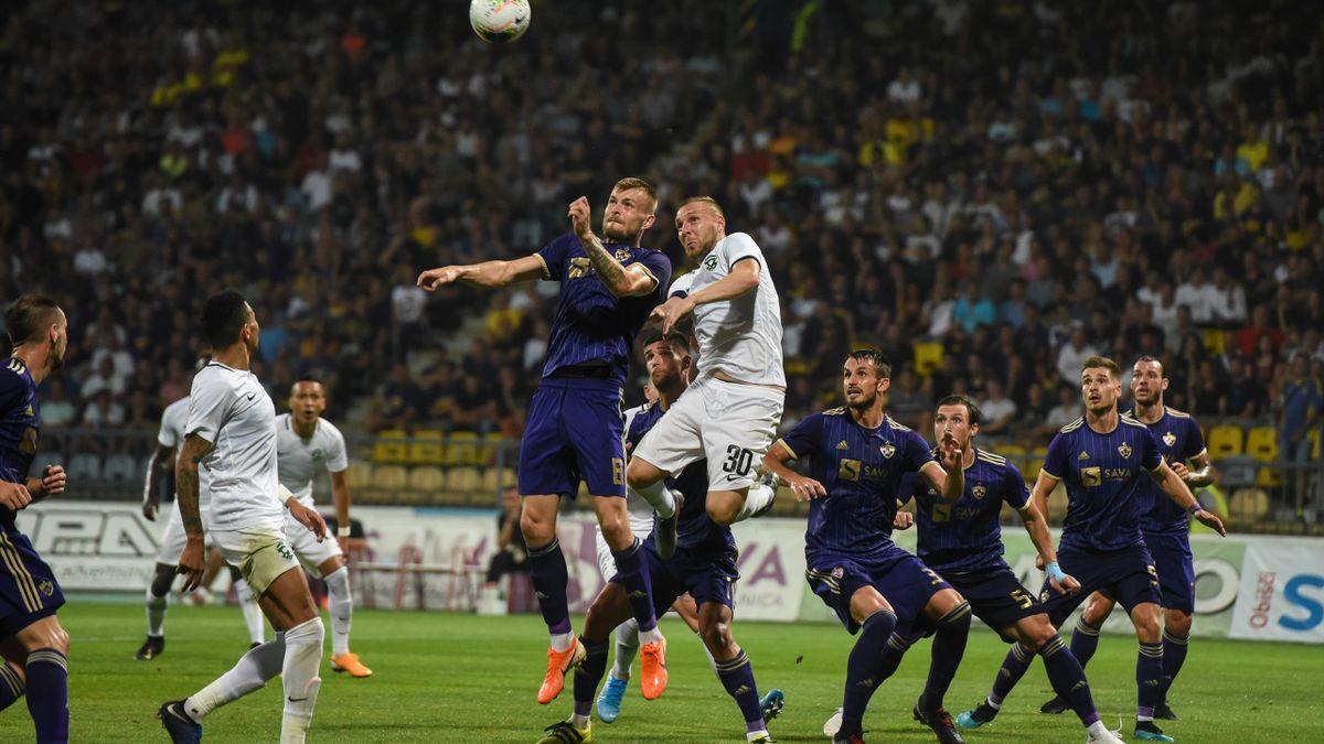 Crețu, în duel cu Moți, într-un Maribor - Ludogorets
