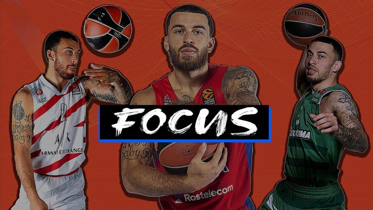 Mike James, CSKA Mosca, Olimpia Milano, Panathinaikos Atene, focus