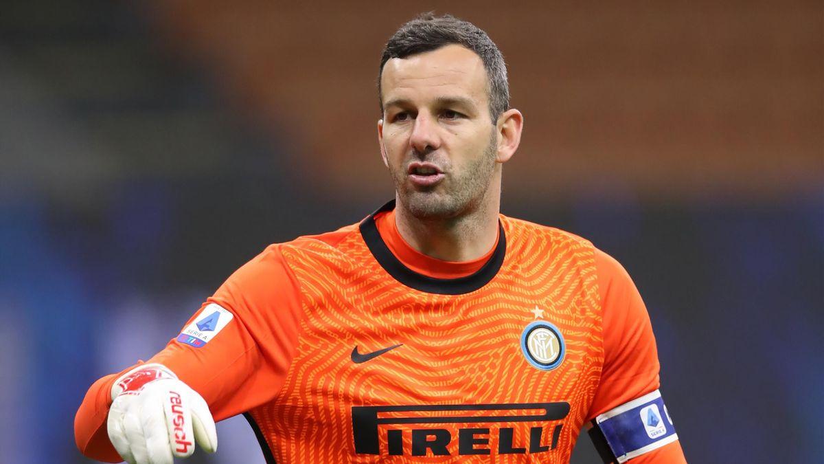 Samir Handanovic ist Stammtorwart bei Inter Mailand