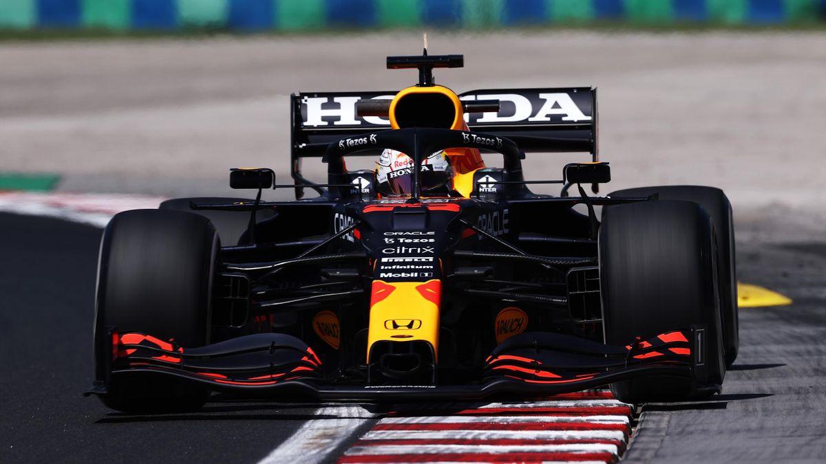 Max Verstappen (Red Bull) - GP de Hongrie 2021 - Libres 1