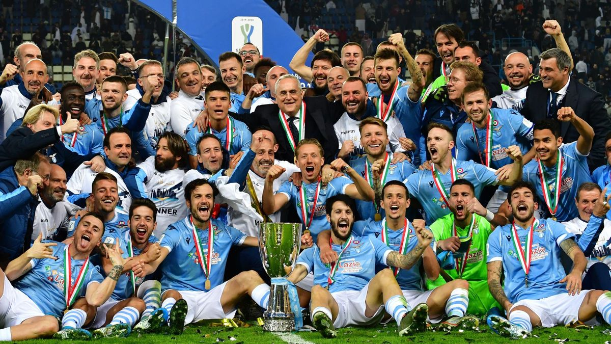 La Lazio vince la Supercoppa Italiana 2019 a Riad