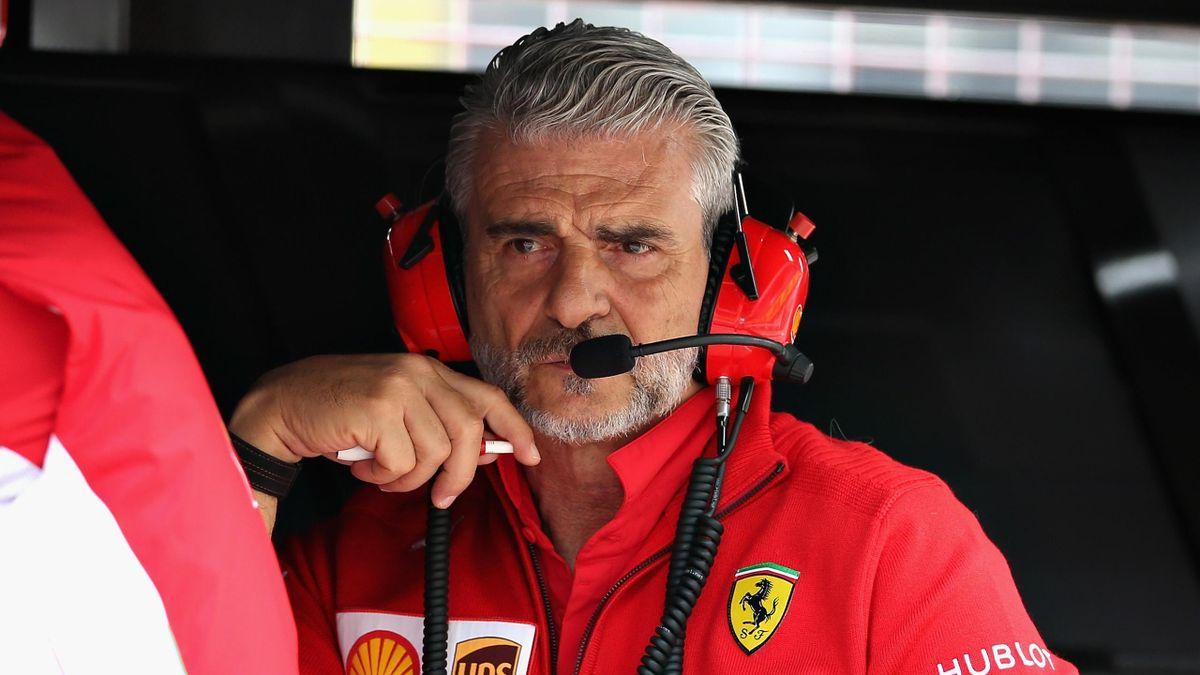Maurizio Arrivabene (Ferrari) - GP of Austria 2018