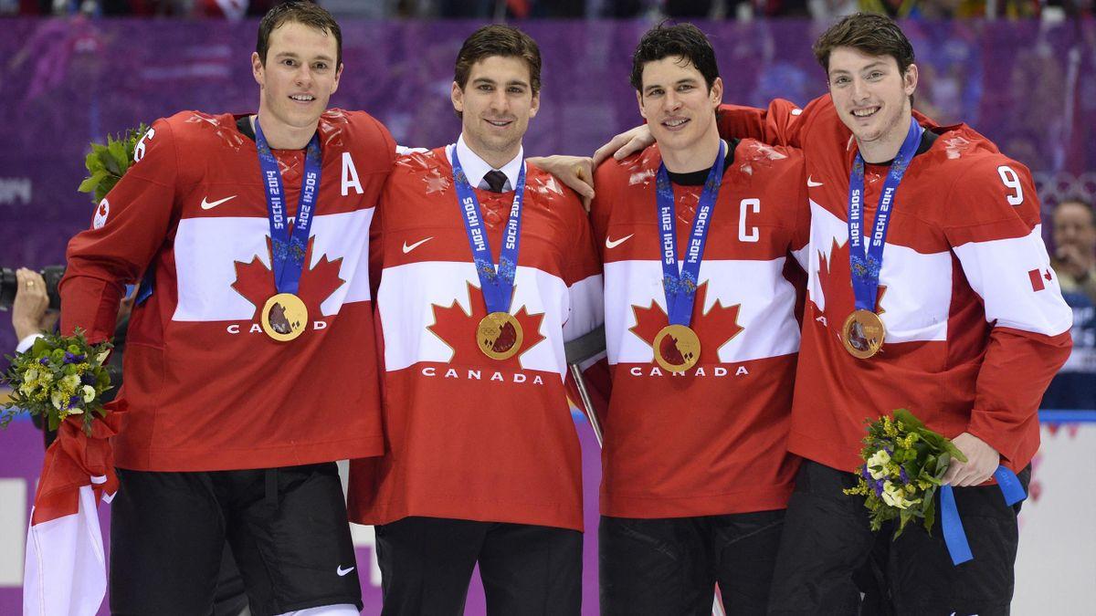 Szocsiban Kanada lett az olimpiai bajnok:  Jonathan Toews, John Tavares, Sidney Crosby és Matt Duchen