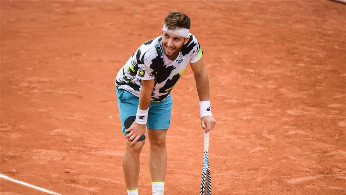 Corentin Moutet și Lorenzo Giustino au jucat un meci de șase ore și cinci minute la Roland Garros 2020