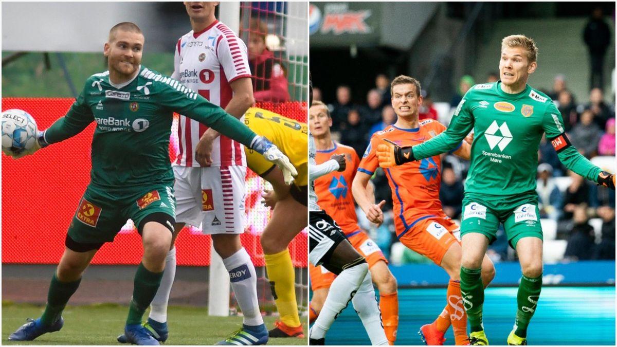 Gudmund Kongshavn og Andreas Lie