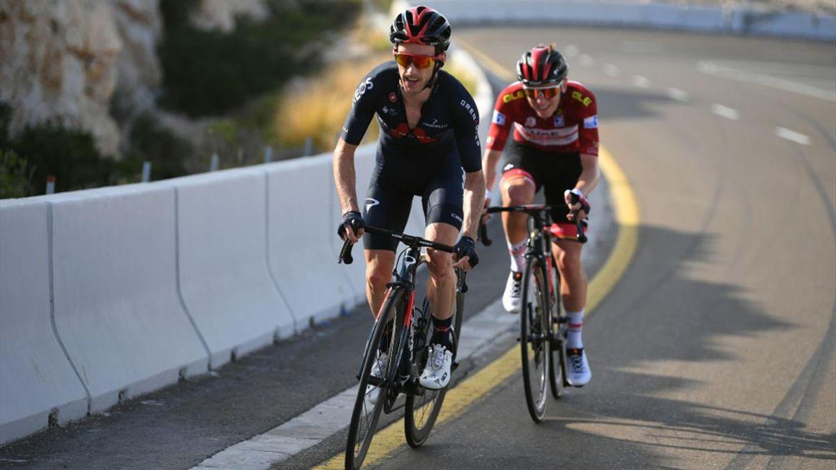 Adam Yates, Tadej Pogacar - UAE Tour 2021, stage 3 - Getty Images