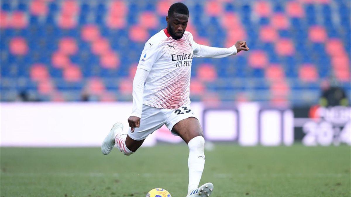 Tomori - Bologna-Milan - Serie A 2020/2021 - Getty Images