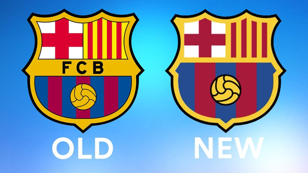 Spot The Difference Barcelona Have A New Logo Can You Find The 5 Changes Eurosport