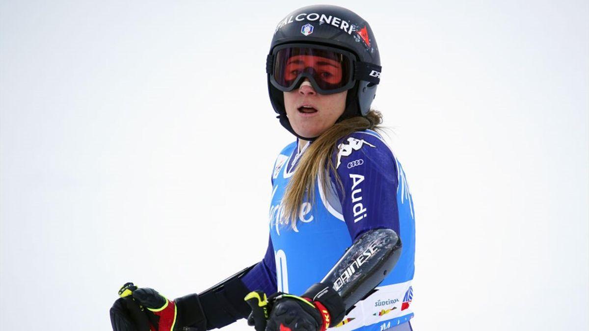 Sofia Goggia ist in Garmisch-Partenkirchen auf dem Weg ins Hotel gestürzt