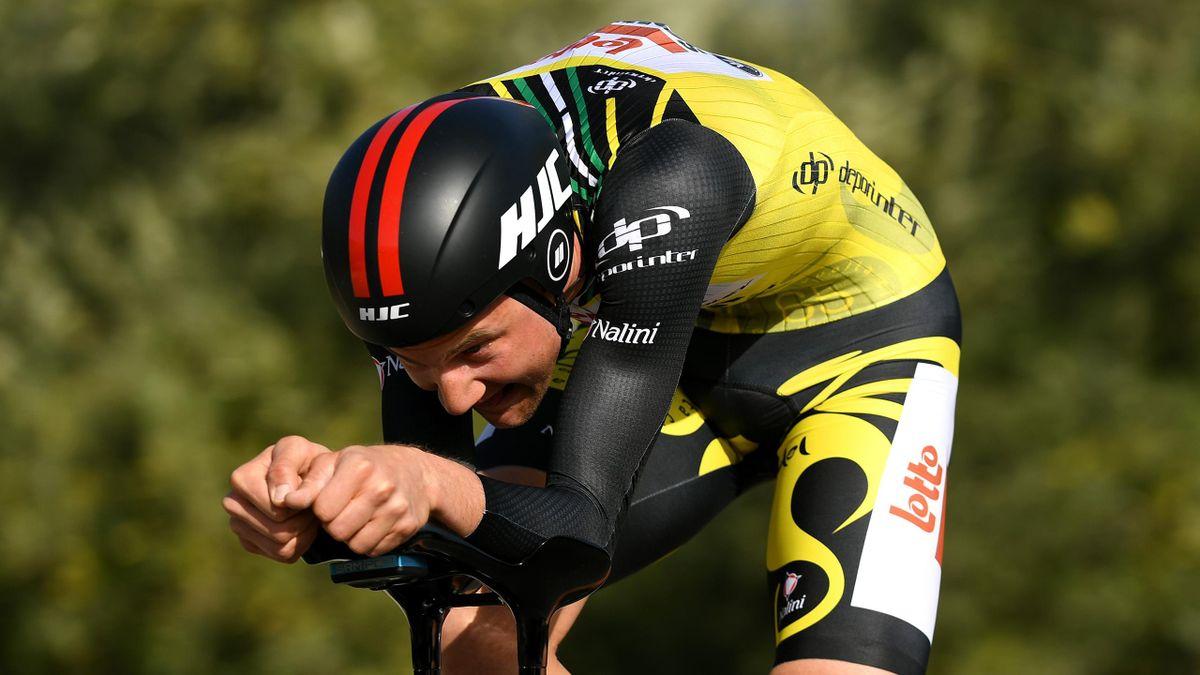 Tim Wellens won stage three