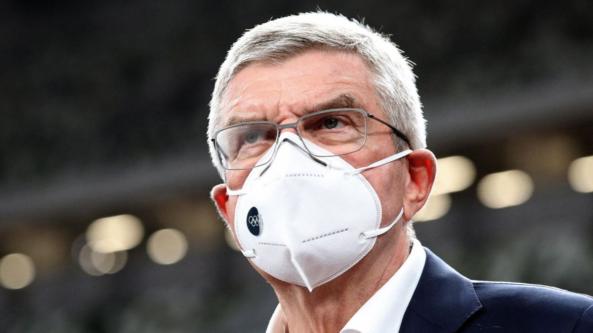 IOC-president Thomas Bach.
