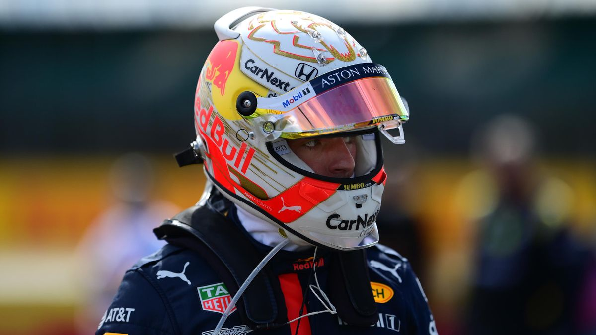Red Bull's Max Verstappen at the British GP